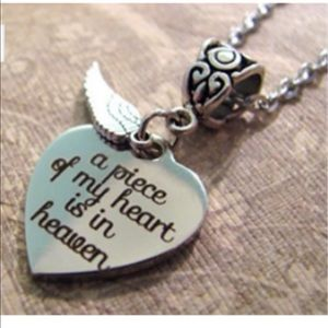 Jewelry - Heart of heaven necklace